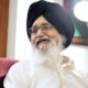 Terrorism, Congress, Government, Punjab, Conditions, Former CM, Parkash Singh Badal