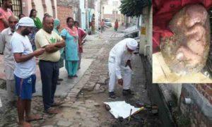 Child Fetus, Village, Police, Inquiry, Punjab