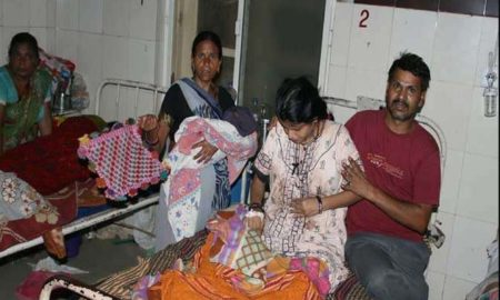 Serious, Medical College,Women, Worried, Injection, Government Hospital,Gwalior
