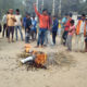 Protest, Padmavati Film, Villagers, Haryana