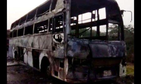 Fire, Bus, Rajasthan, Women, Died,Daughter