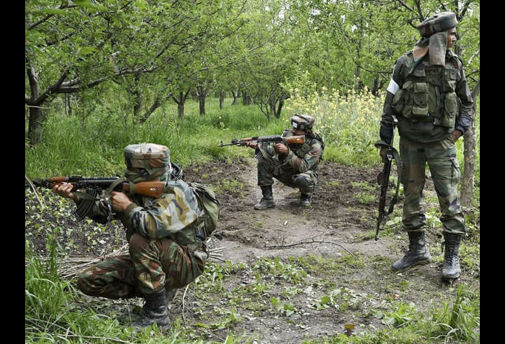 Wncounter, Terrorists, Indian Army