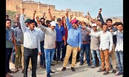 Padmavati Dispute, Karni Army, Protest, Surat, Rajasthan, Mumbai