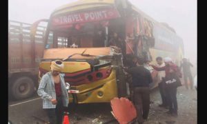 Fog, Road Accident, Died, Injured, Haryana
