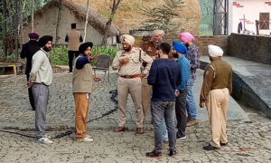 Robbers, Looted, Crores, Cash Van, Bank, High Alert, Punjab