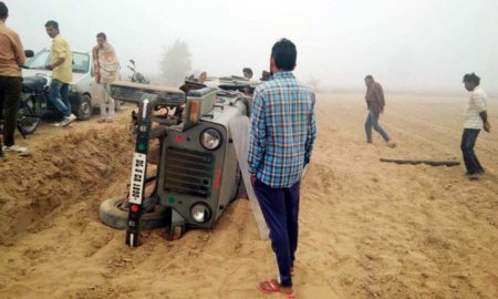 Students, Injured, Road Accident, Rajasthan