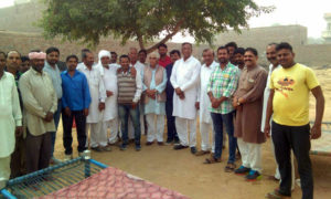 Protest, Subdivision Office, Villagers, Demand, Water, Rajasthan