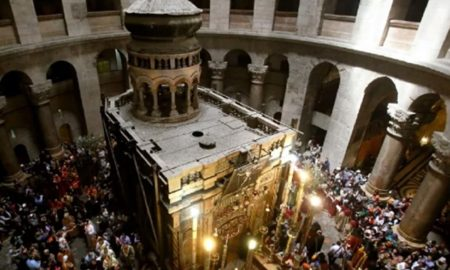 Holy Church, Jerusalem, Protests