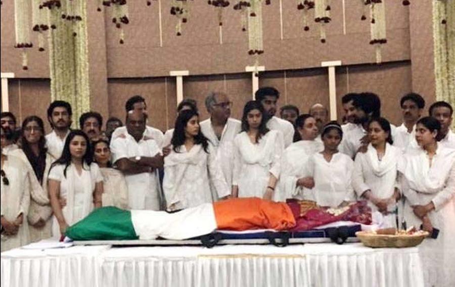 Bollywood, Sridevi, Farewell, Mumbai