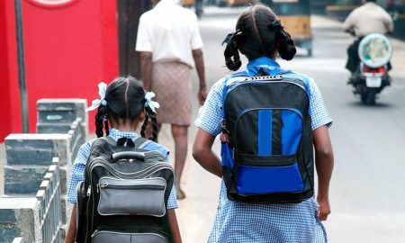 Childhood, Burden, School Bags, India