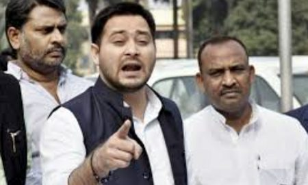 Tejaswi Yadav, Muzaffarpur, Accident Acused, Absconding