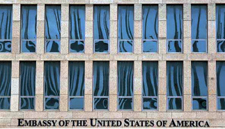 US, America, Embassy, State Department