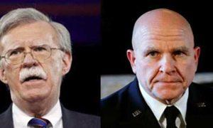 Donald Trump, Hardliner, Bolton, MCMaster, National Security Adviser