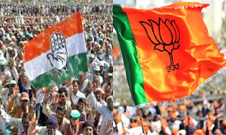 BJP, Shocks, Hindi Speaking Area, Congress