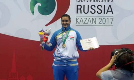 Pooja Kadian, India, Gold Medal, Wushu World Championship