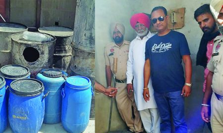 Raw Liquor, Punjab, Police