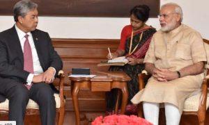 Modi, Meets, Malaysia's ,Prime, Minister