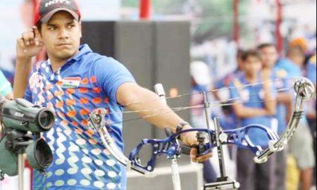 Abhishek, silver, bronze, medal,Archery, Sports