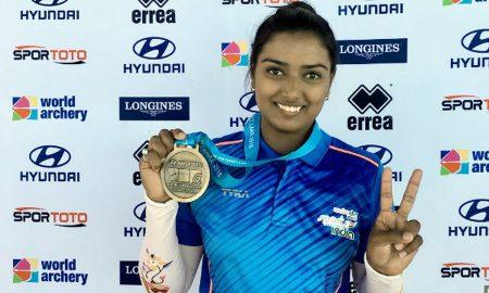 Deepika, Archery, gold, World Cup event, Sports