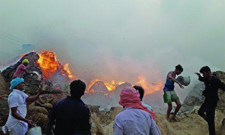 Terrible Fire, Storm, Punjab
