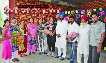 Punjab, Asian Power Lifting Champion, Jasmin, Great, Reception, Gold Meadlist ,Winner