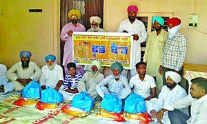 Ration, Distribution, Dera Sacha Sauda, Needy Peoples