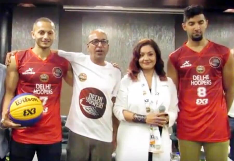 Pooja Bhatt, Team, Basketball League, Sports
