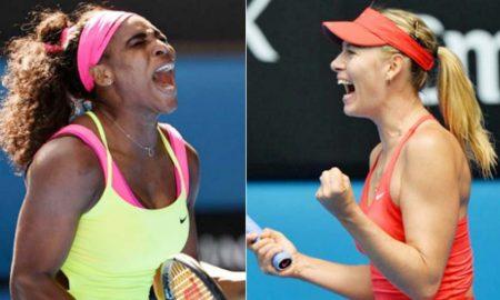 French Open, Serena and Sharapova, third round