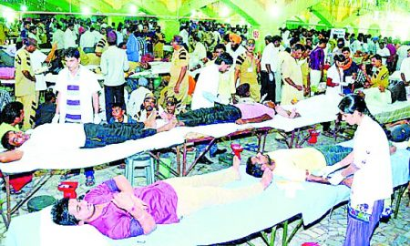 Blood Donation, Dera Sacha Sauda, Genius World Record