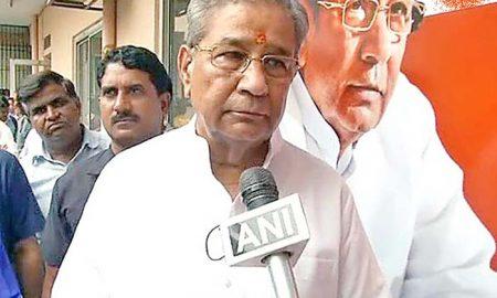 DhanShyam tiwari, Resign, BJP Leader