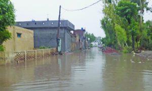Rain Water, filled, Streets, People Upset, Punjab