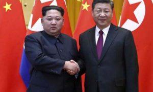 Kim, Reached, China