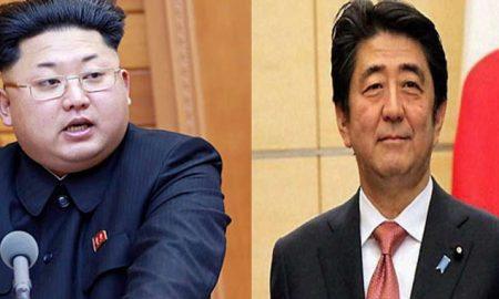 May, Between, Abe, KimJong