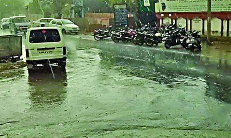 Bundabandi, Jaipur, Rain,