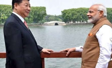 Modi, Arrived, In, China, Meets, Jinping,