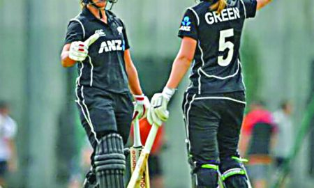 New, Zealand, Women's, Team, Scored, 490 Runs,