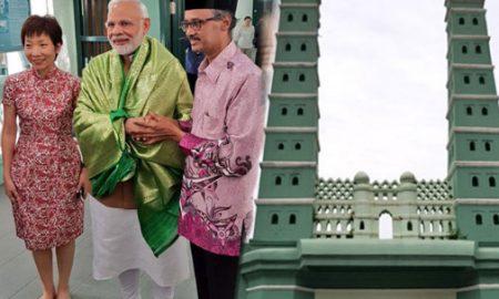 Singapore, Masjid Modi, Arrived, After, Temple, Exhibition