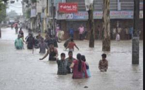 Heavy, Rains, Maharashtra,Gujarat