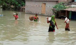 Peoples, Affected, Floods, Assam