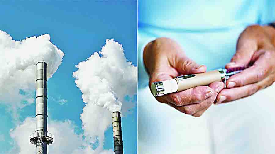 Diabetes, Deadly, Air Pollution