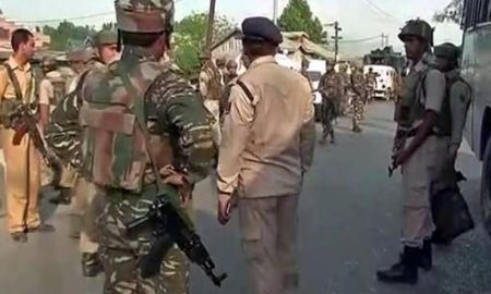 Grenade, Attack, CRPF Camp, Kashmir