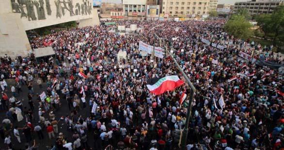 Demonstration in Iraq