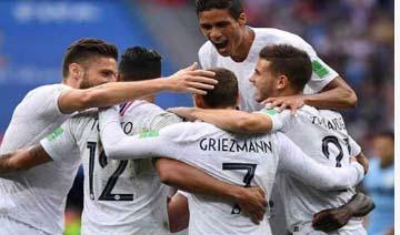 France Beat Uruguay