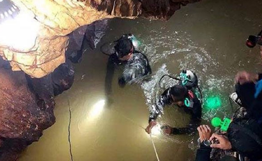 Limited Time, Save Children, Trapped, Thailand Cave