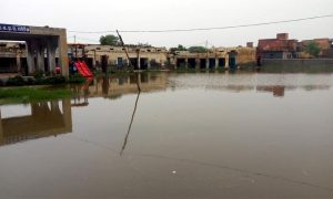 Heavy Rains, Narwana, Filled Water, Police Station, Haryana