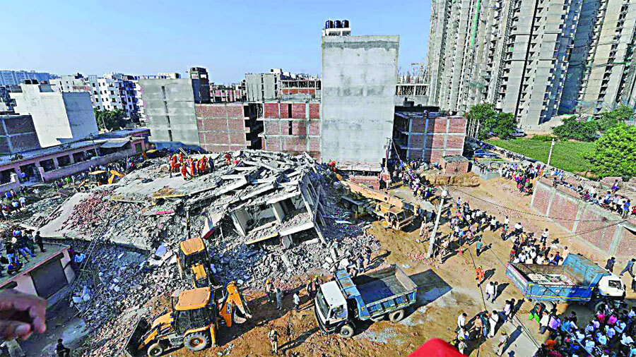 Greedy People, Punishment, Builders, Noida