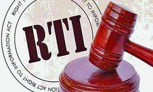 RTI, Officials, Negligence, Making ACT Weak