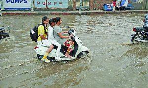Heavy Rain, Sirsa, Rainy Season, Summer, Relief