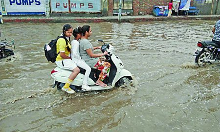 Heavy Rain, Sirsa, Rainy Season, Summer, Relief