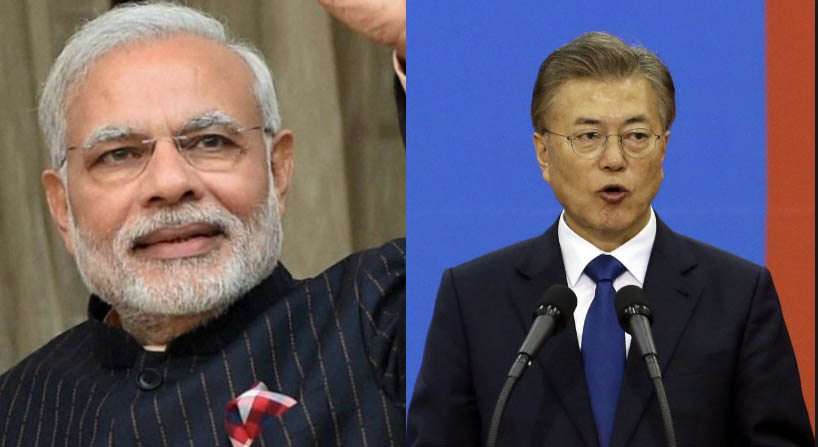 South Korea's President visit India